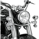 Show Chrome Mini Driving Light Kit - Elliptical