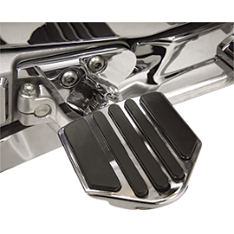 Show Chrome Driver Peg Mounting Bracket - Honda Genuine Accessories Full Face Deluxe Headset