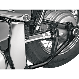 Show Chrome Driveshaft Cover - Kuryakyn Transformer Backrest Mount Side Plates