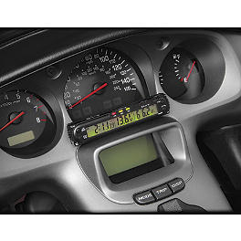 Show Chrome Digital Volt Meter - 1995 Kawasaki Vulcan 500 - EN500A Show Chrome Bar Mount Coin Holder