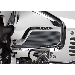 Show Chrome Engine Cover Scuff Pad - Carbon - 2008 Honda Gold Wing 1800 Audio Comfort - GL1800 Show Chrome Heel-Toe Shifter