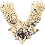 "Show Chrome 2"" V700 Eagle Emblem - Cruiser Storage"