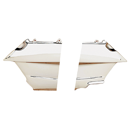 Show Chrome Lower Engine Side Covers - 1996 Honda Gold Wing Interstate 1500 - GL1500I Show Chrome Slider Brake Pedal - Flame