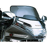 Show Chrome Euro Sport Windshield - Motorcycle Windshields & Accessories