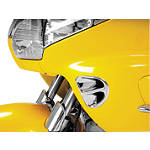 Show Chrome Fairing Air Intake Grilles - Chrome - Cruiser Fairing Kits and Accessories