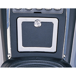 Show Chrome Fuel Door Accent Trim - Show Chrome Air Pressure Control Panel Accent
