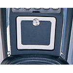 Show Chrome Fuel Door Accent Trim - Show Chrome Cruiser Products