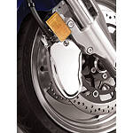 Show Chrome Front Brake Caliper Cover - Cruiser Calipers