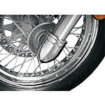 Show Chrome Bullet Fork Covers - Show Chrome Cruiser Suspension