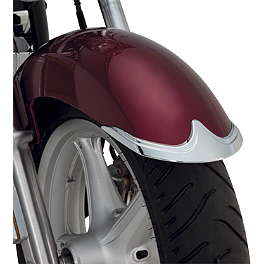 Show Chrome Front Fender Tip - 2012 Honda Stateline 1300 - VT1300CR National Cycle Cast Rear Fender Tip