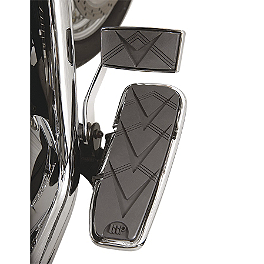 Show Chrome Floorboards - V-Style - Show Chrome Cruiser Footrest Board