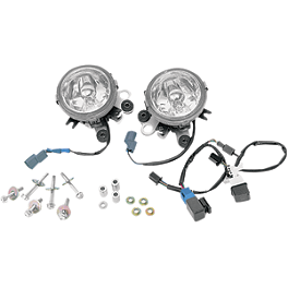 Show Chrome Lower Fog Light Kit - Show Chrome Mini Halogen Driving Lights