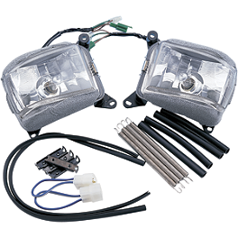 Show Chrome Fog Light Kit - Show Chrome Fuel Door Accent - Chrome