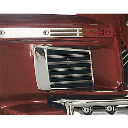 Show Chrome Fairing Lower Louver Set - Show Chrome Cruis Wing 500 Accent Grilles