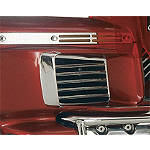 Show Chrome Fairing Lower Louver Set - Show Chrome Cruiser Fairing Kits and Accessories