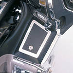 Show Chrome Right Fairing Pocket Cover -  Cruiser Dash and Gauges