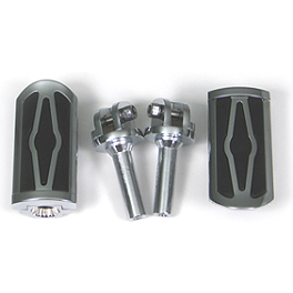Show Chrome Front Peg Kits - Celestar - 2003 Honda Gold Wing 1800 - GL1800 Show Chrome Handlebar Clamp Plugs