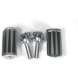 Show Chrome Front Peg Kits - Teardrop - 2007 Honda Gold Wing 1800 Premium Audio - GL1800 Show Chrome Heel-Toe Shifter
