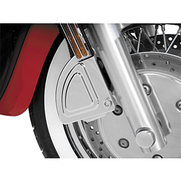 Show Chrome Front Right Caliper Cover - Stepped - 1998 Yamaha V Star 650 Custom - XVS650 Show Chrome Helmet Holder Pin - 10mm