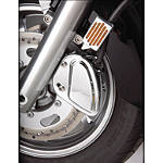 Show Chrome Front Right Caliper Cover - Stepped