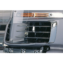 Show Chrome Fairing Side Fin Louvers - Show Chrome Cruis Wing 500 Accent Grilles