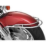 Show Chrome Front Fender Rail
