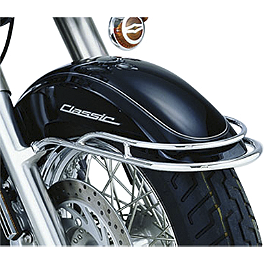 Show Chrome Front Fender Rail - 2000 Yamaha Royal Star 1300 Venture - XVZ1300TF Show Chrome Luggage Rack With Rubber Insert