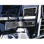 Show Chrome Hot Air Vents - Show Chrome Cruiser Fairing Kits and Accessories