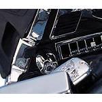 Show Chrome Headlight Beam Knob -  Cruiser Dash and Gauges