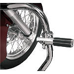 Show Chrome Highway Bar Clamp With Rail Peg - Show Chrome Cruiser Foot Controls