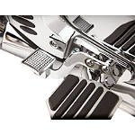 Show Chrome Brake Side Heel Rest - Show Chrome Cruiser Controls