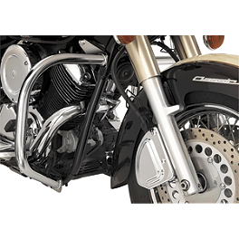 Show Chrome Highway Bars - 2005 Yamaha V Star 1100 Classic - XVS11A Show Chrome Front LED Turn Signal Conversion Kit