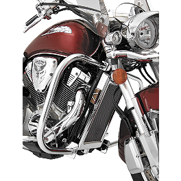 Show Chrome Highway Bars - 2006 Honda VTX1800S3 Show Chrome Helmet Holder Pin - 10mm