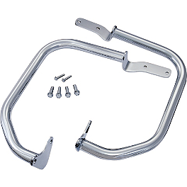 Show Chrome Highway Bars - MC Enterprises Full Engine Guard