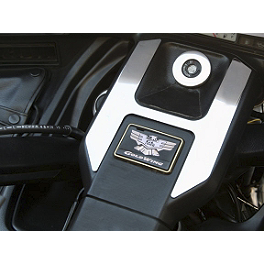 Show Chrome Ignition Switch Cover Set - Show Chrome Radio Side Accents