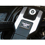 Show Chrome Ignition Switch Cover Set - Show Chrome Cruiser Dash and Gauges