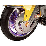 Show Chrome Replacement LED Strips For Lighted Front Rotor Covers -  Cruiser Brakes