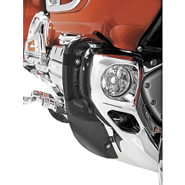 Show Chrome Lower Cowl Deflector - 2006 Honda Gold Wing 1800 Premium Audio - GL1800 Show Chrome Handlebar Clamp Plugs