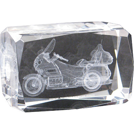 Show Chrome Laser Etched Crystal Paperweight - GL1800 - Main