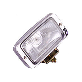 Show Chrome Replacement Lens For Halogen Driving Light Kit - Show Chrome 4-1/2