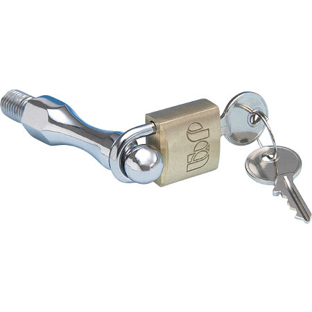 Show Chrome Mini Brass Padlock - Main