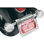 Show Chrome Raised License Plate Holder - Dual Function