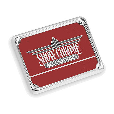 Show Chrome License Plate Trim - British - Main