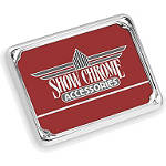 Show Chrome License Plate Trim - British