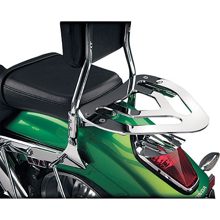 Show Chrome Sissy Bar Luggage Rack - Main