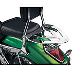 Show Chrome Sissy Bar Luggage Rack - Cruiser Tail Bags
