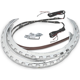 Show Chrome LED Rotor Accent - Show Chrome Heated Grips 1