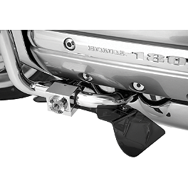 Show Chrome Lower Rain Deflector - 2008 Honda Gold Wing Airbag - GL1800 Show Chrome Heel-Toe Shifter