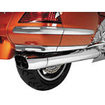 Show Chrome Lower Saddlebag Air Dam Spoiler - Cruiser Chrome Hardware and Accessories