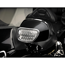 Show Chrome LED Turn Signal Mirror Light - Show Chrome Mirror Units